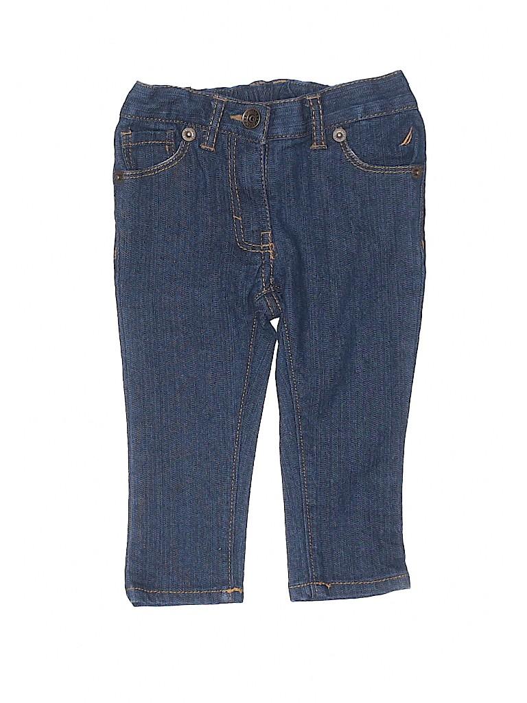Nautica Girls Jeans Size 12 mo