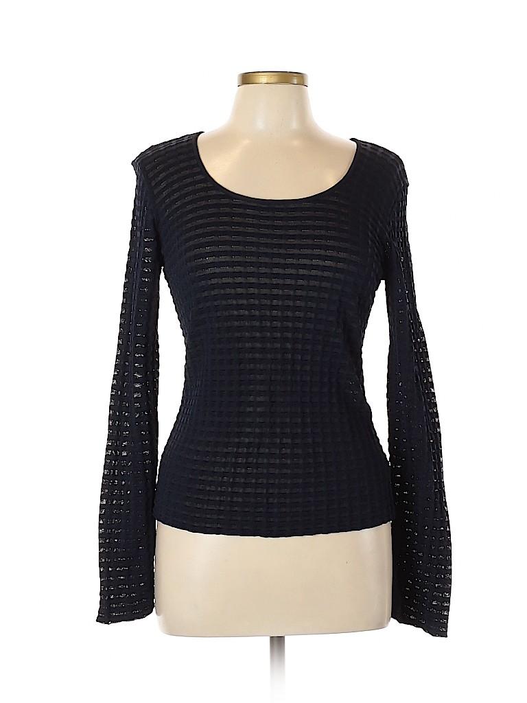 Armani Collezioni Women Long Sleeve Top Size 10