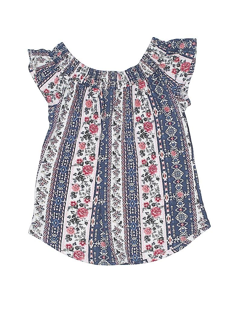 Arizona Jean Company Girls Short Sleeve Top Size 10 - 12