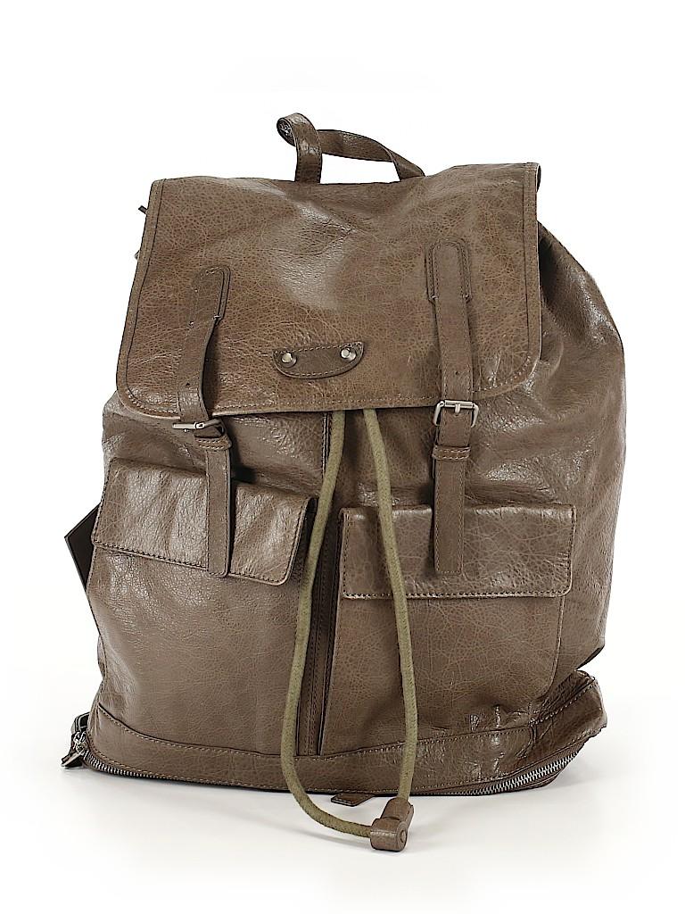 Balenciaga Women Leather Backpack One Size