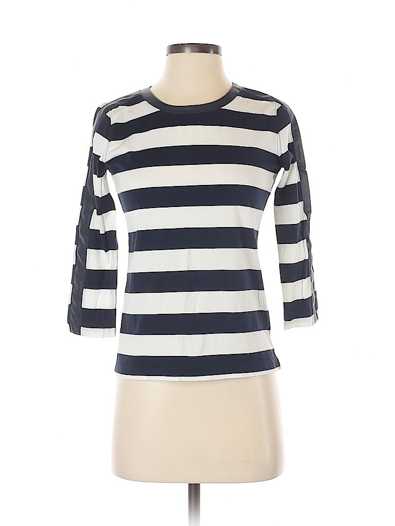 J. Crew Women 3/4 Sleeve Blouse Size XXS