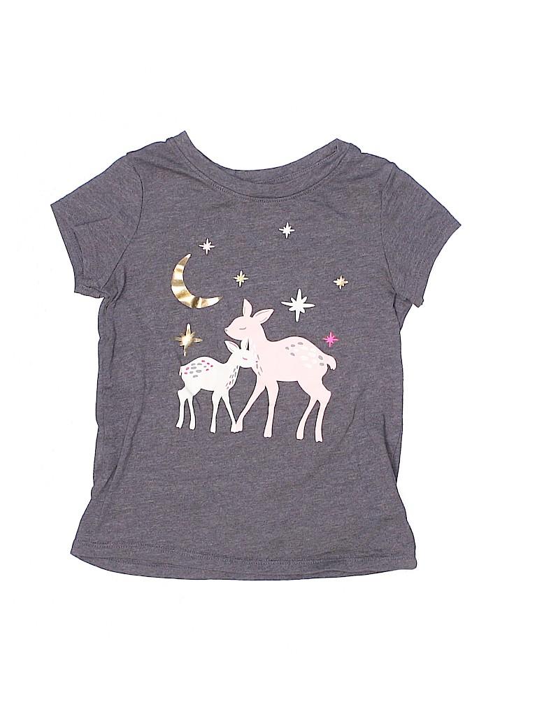 Cat & Jack Girls Short Sleeve T-Shirt Size 4T