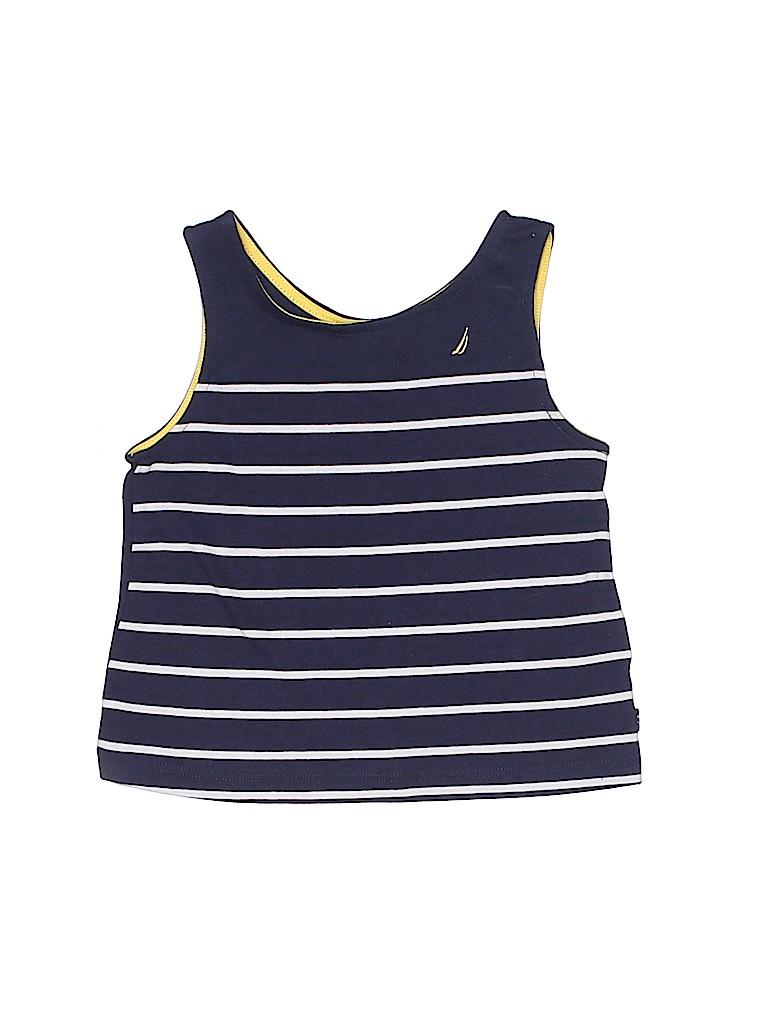 Nautica Girls Sleeveless T-Shirt Size 4T
