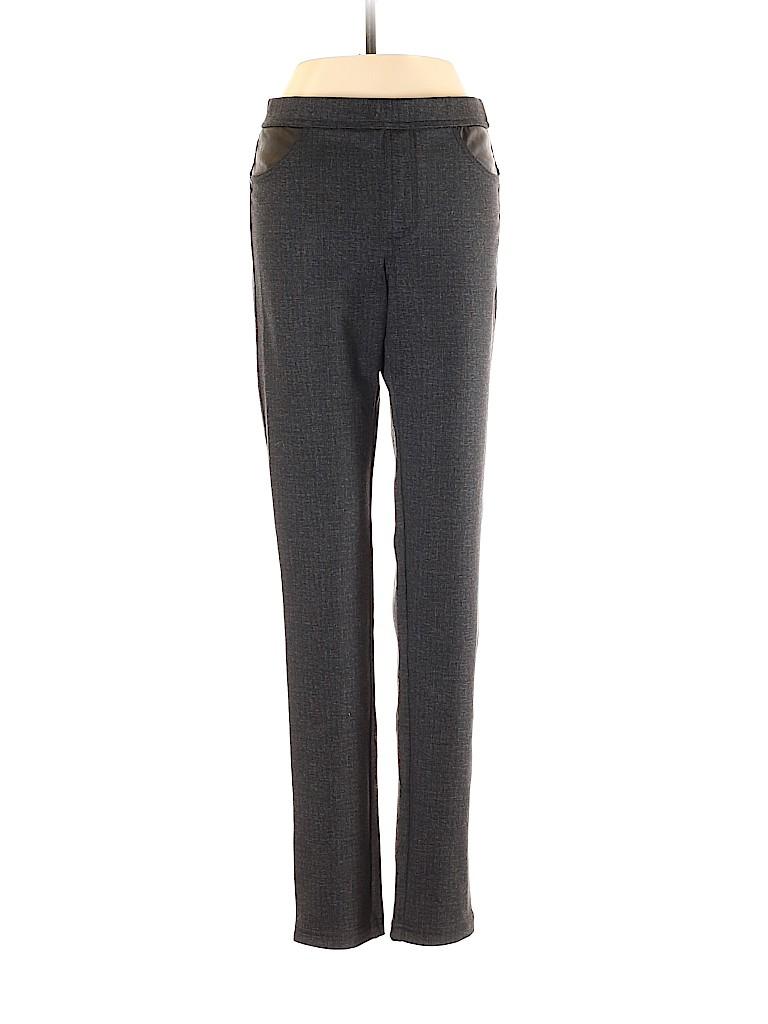 DKNY Jeans Women Faux Leather Pants Size XS