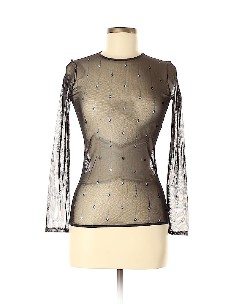 Max Mara Women Long Sleeve Blouse Size 8