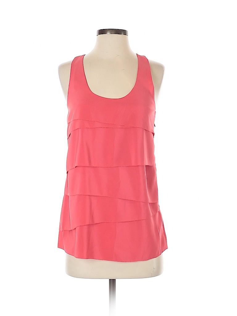 Aqua Women Short Sleeve Blouse Size S