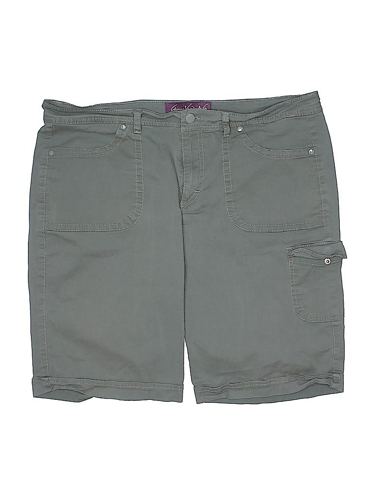 Gloria Vanderbilt Women Shorts Size 16