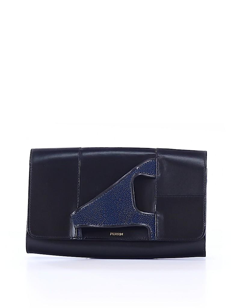 Perrin Paris Women Leather Clutch One Size