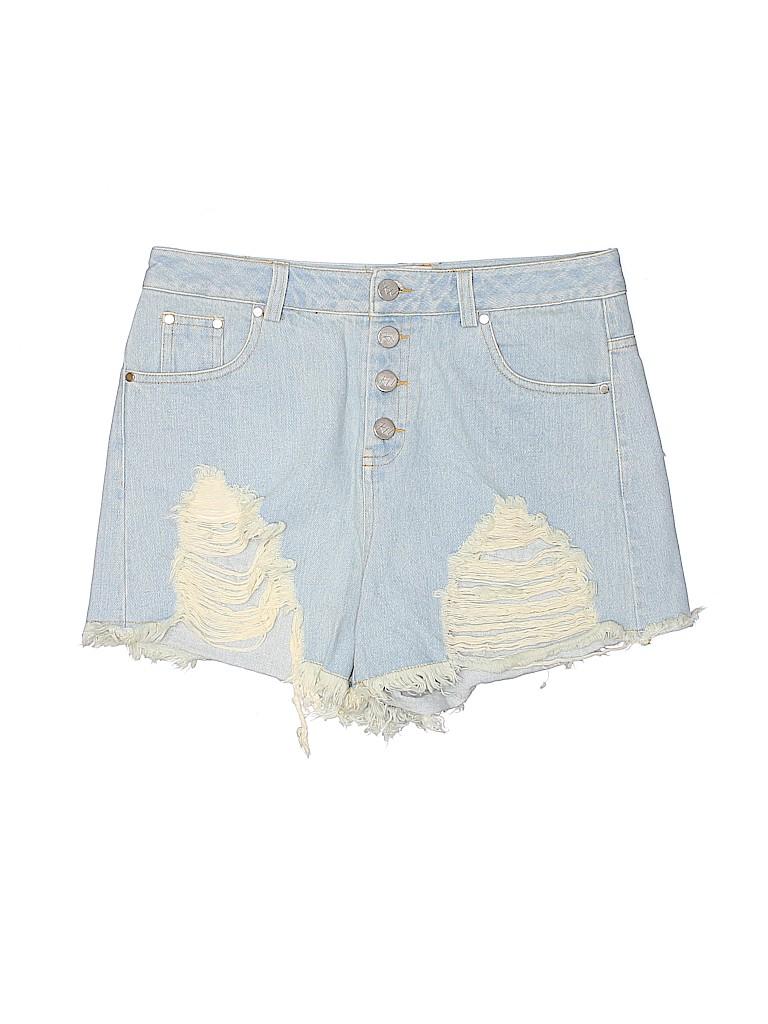 7w Women Denim Shorts Size 8