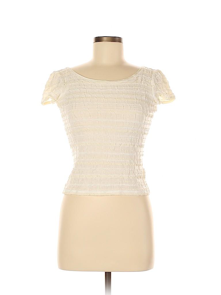 Armani Collezioni Women Short Sleeve Top Size 6
