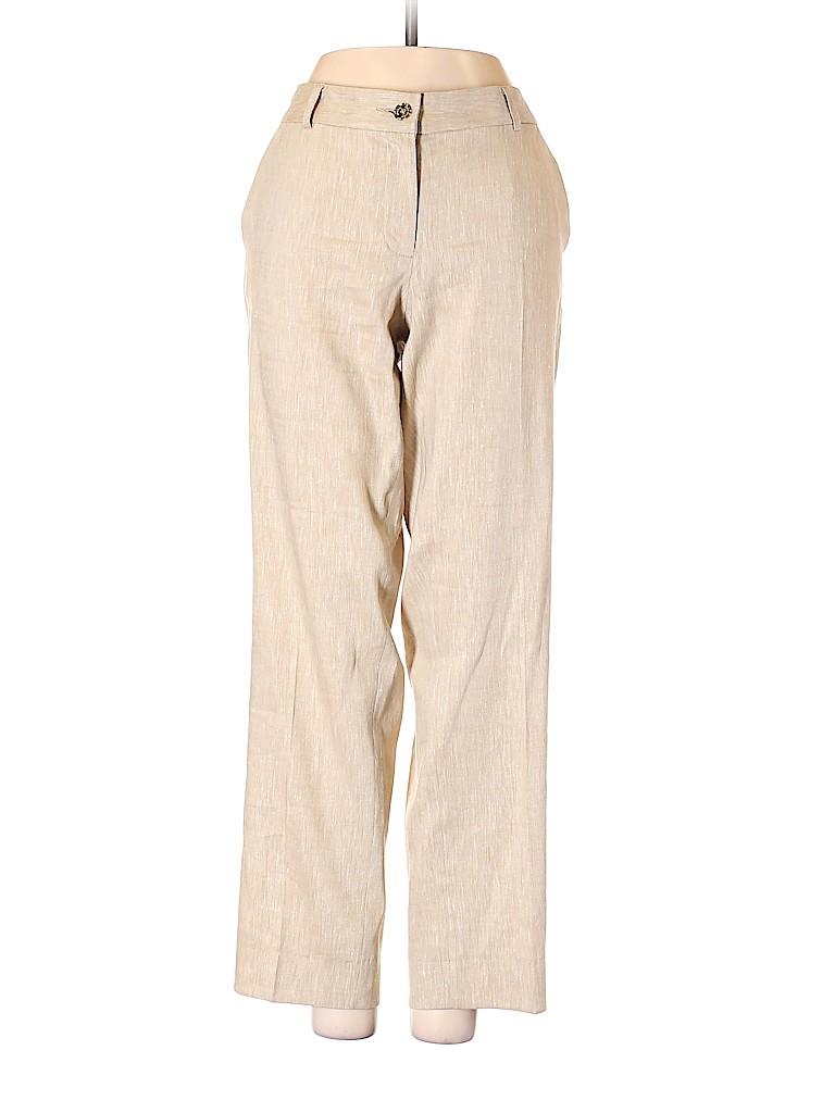 MICHAEL Michael Kors Women Linen Pants Size 4