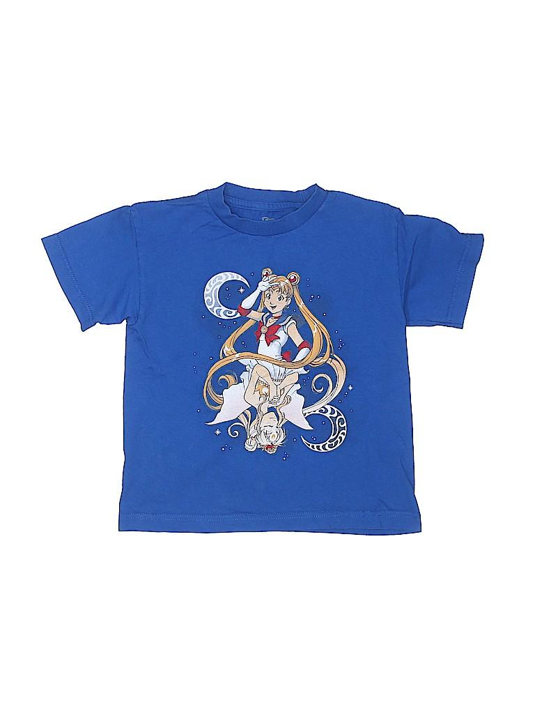Brand Unspecified Girls Short Sleeve T-Shirt Size M (Kids)