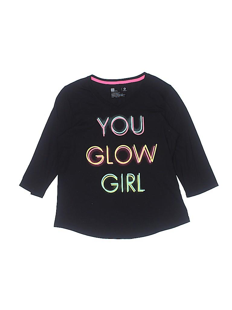 Xersion Girls 3/4 Sleeve T-Shirt Size 20 (Plus)