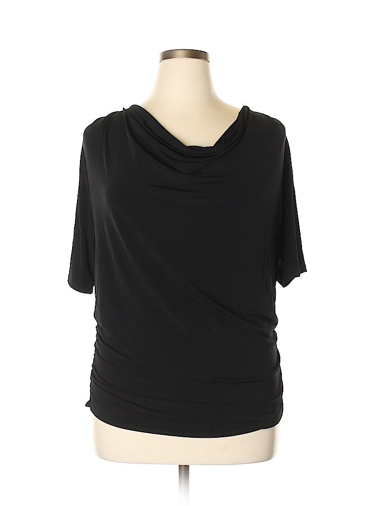 Ellen Tracy Women Short Sleeve Top Size XL