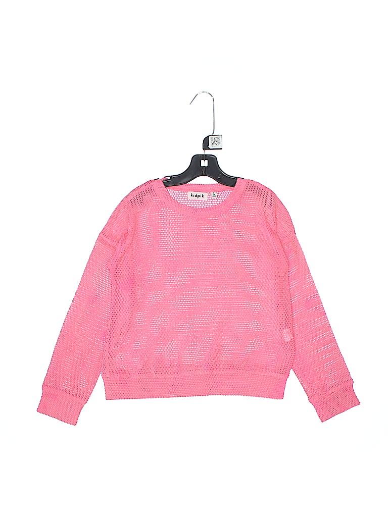 Kidpik Girls Pullover Sweater Size 7 - 8