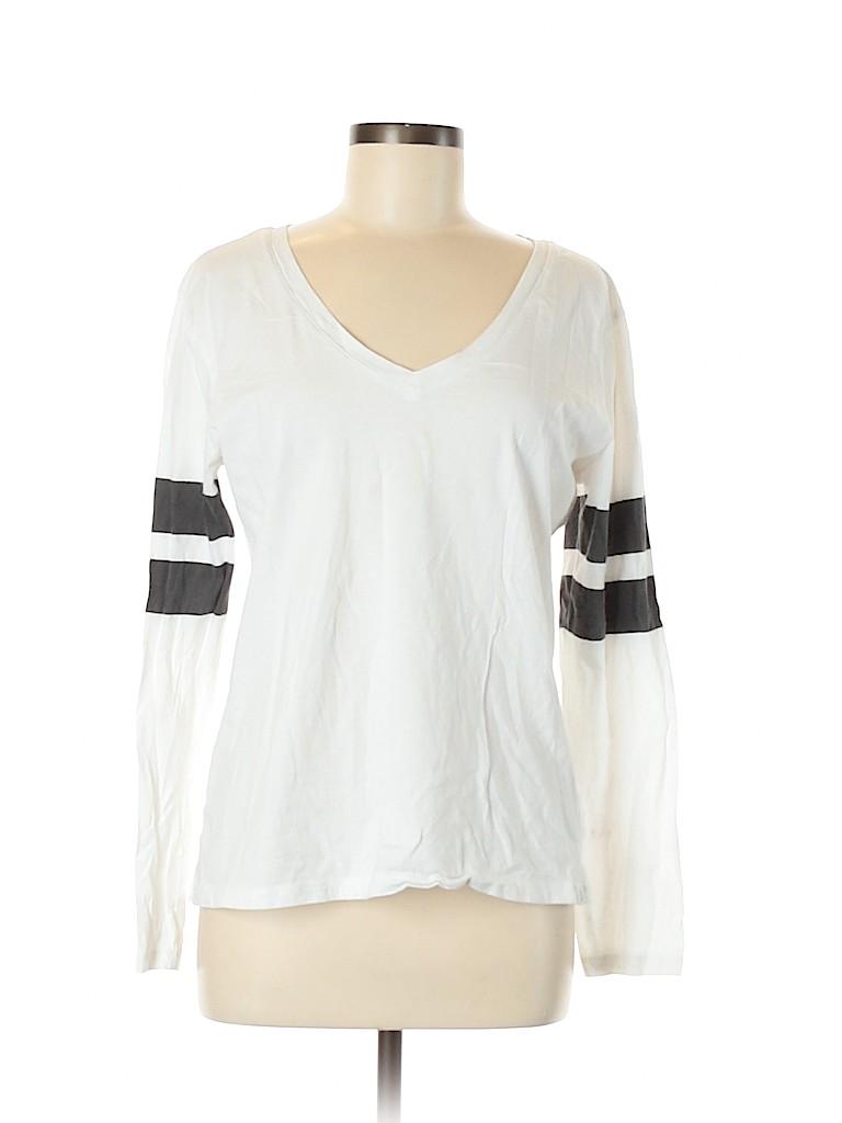 Treasure & Bond Women Long Sleeve T-Shirt Size M