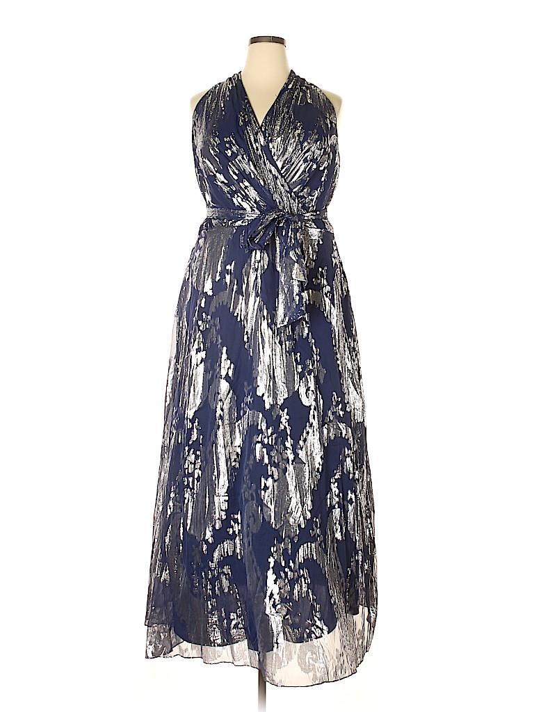 Leslie Fay Women Cocktail Dress Size 20 (Plus)