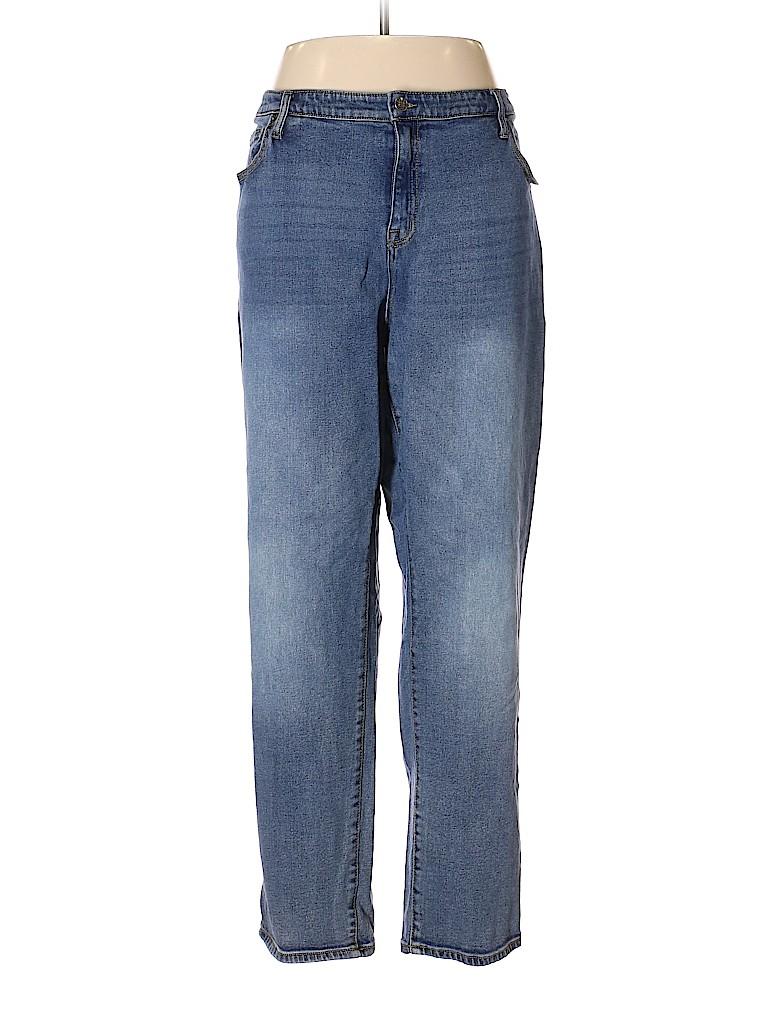 Ava & Viv Women Jeans Size 24 (Plus)