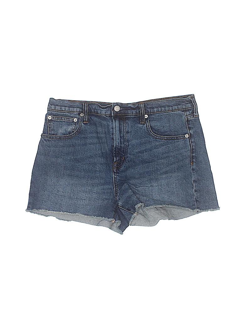 Gap Women Denim Shorts 31 Waist