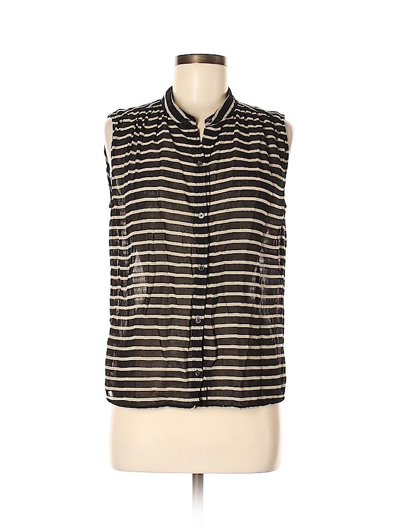 J. Crew Women Sleeveless Button-Down Shirt Size 6