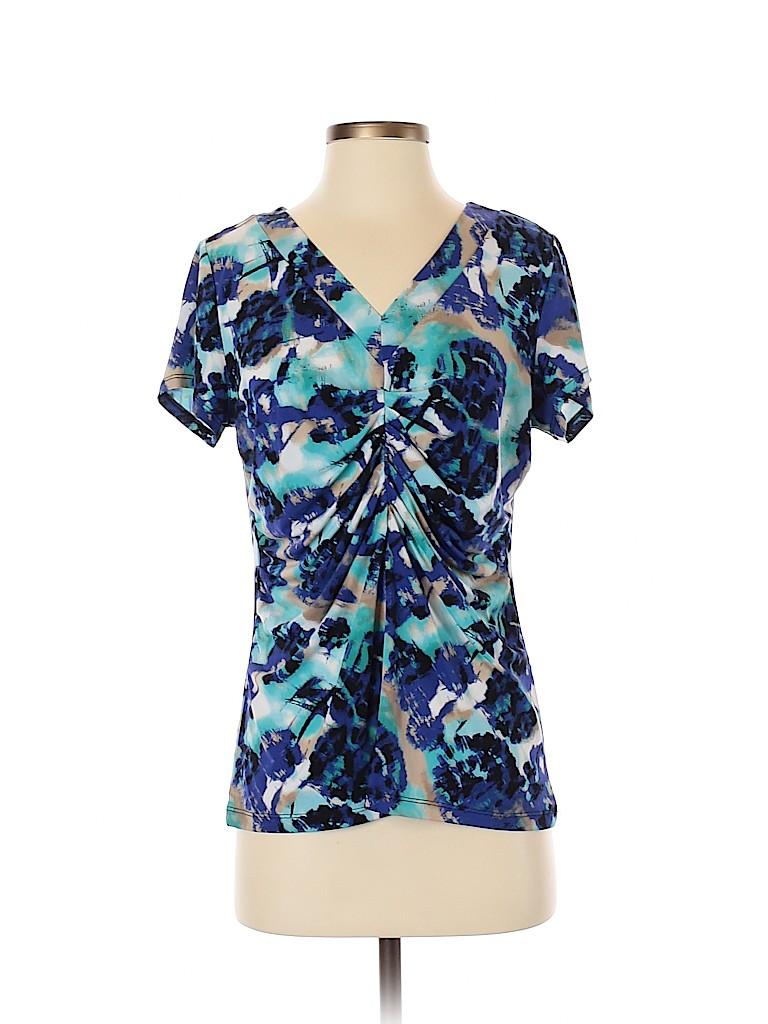 Alfani Women Short Sleeve Blouse Size M