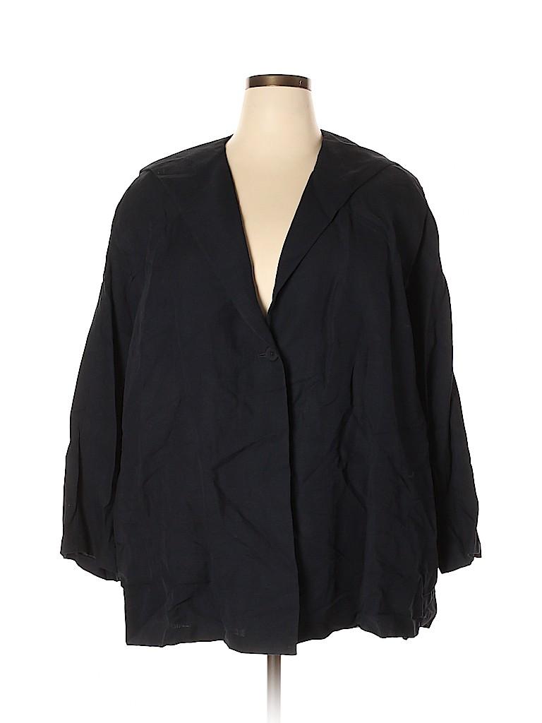 Linda Allard Ellen Tracy Women Blazer Size 22 (Plus)