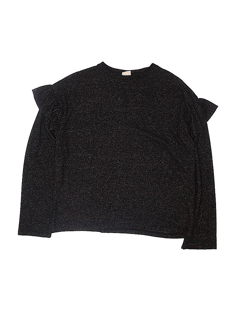 Zara Girls Long Sleeve T-Shirt Size 13 - 14