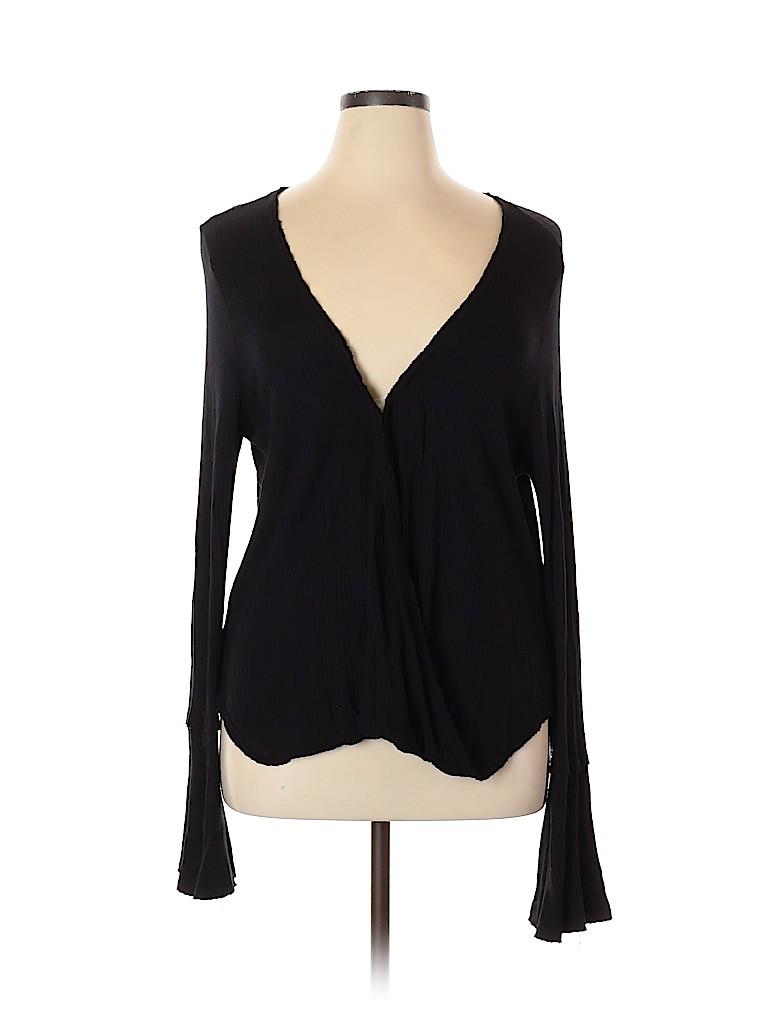 Lucky Brand Women Long Sleeve Top Size XL