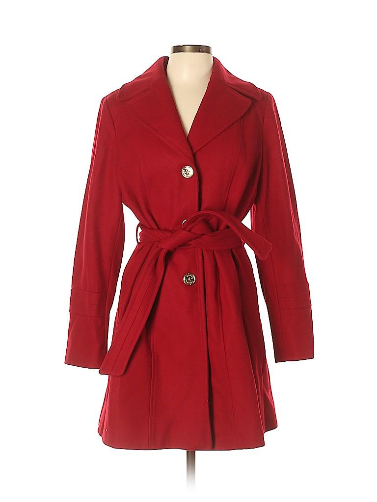 MICHAEL Michael Kors Women Wool Coat Size L