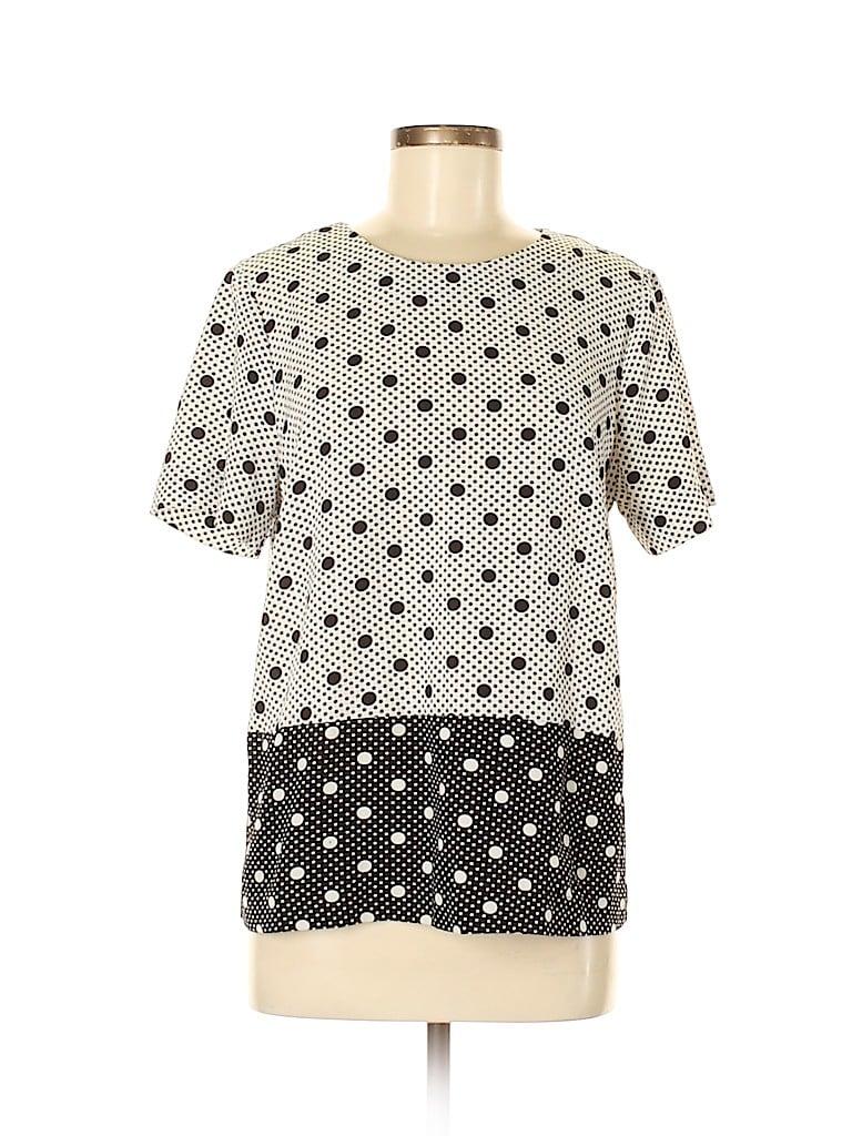 Daniel Rainn Women Short Sleeve Blouse Size M