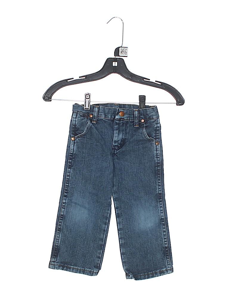 Wrangler Jeans Co Boys Jeans Size 3T