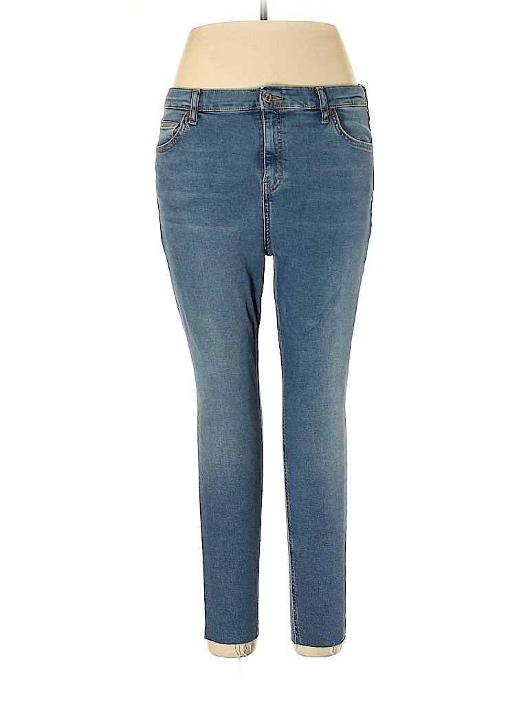 Topshop Women Jeans 34 Waist