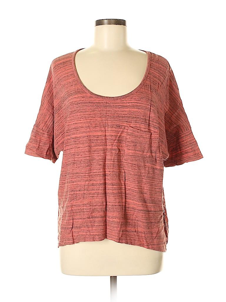 Patterson J. Kincaid Women Short Sleeve T-Shirt Size XS