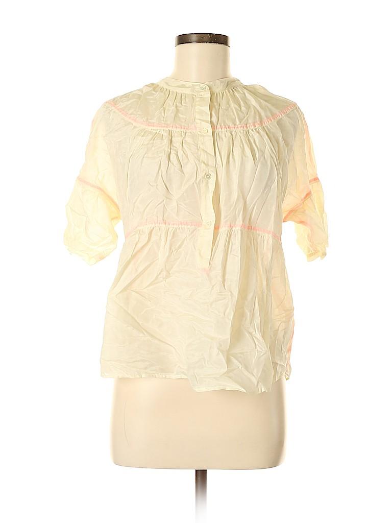 J. Crew Women Short Sleeve Blouse Size 8