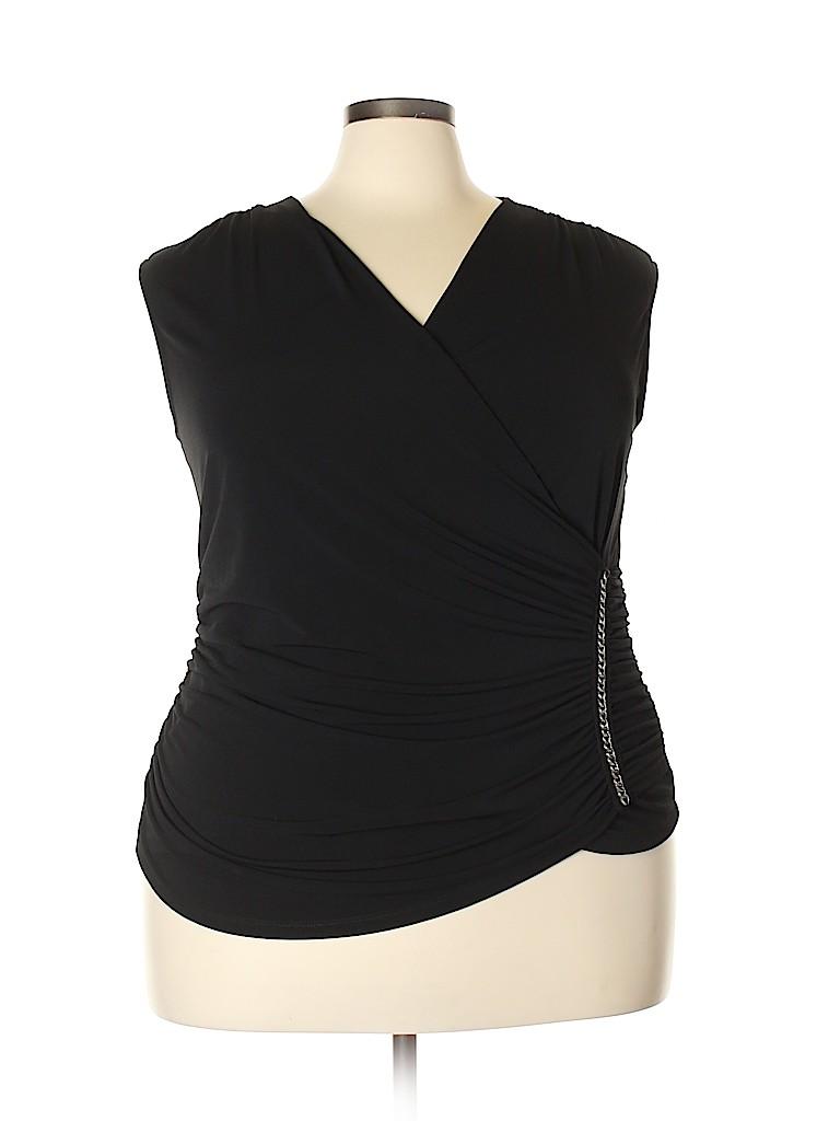 Ellen Tracy Women Sleeveless Top Size 2X (Plus)