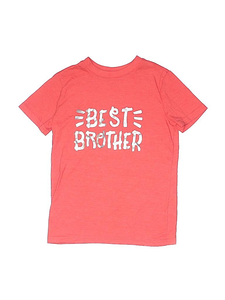 Cat & Jack Boys Short Sleeve T-Shirt Size 6 - 7