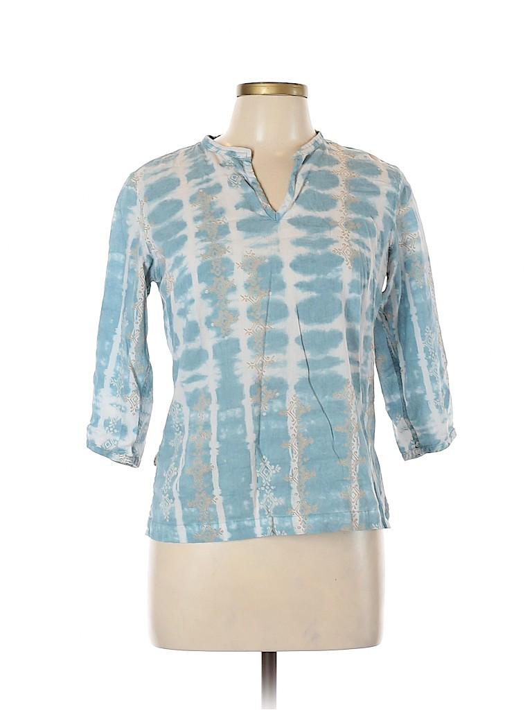 Columbia Women 3/4 Sleeve Blouse Size S
