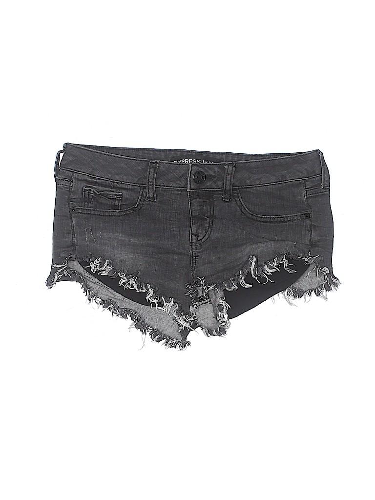 Express Jeans Women Denim Shorts Size 2