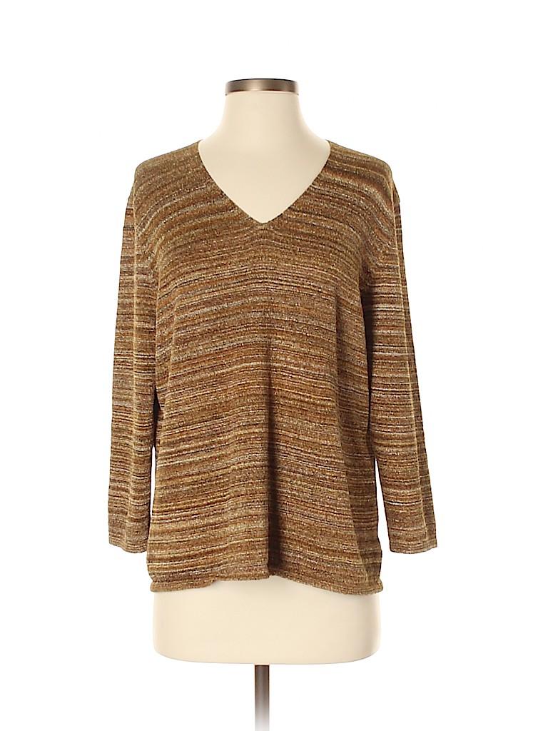 Nine & Company Women Long Sleeve Top Size XL