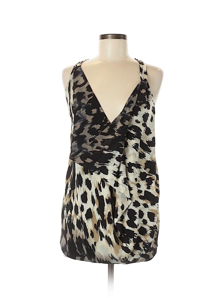 Robert Rodriguez Women Sleeveless Silk Top Size 6