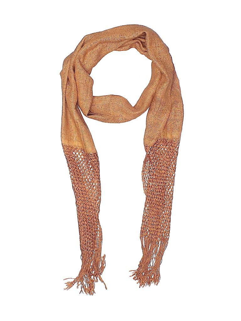 Assorted Brands Women Silk Scarf One Size