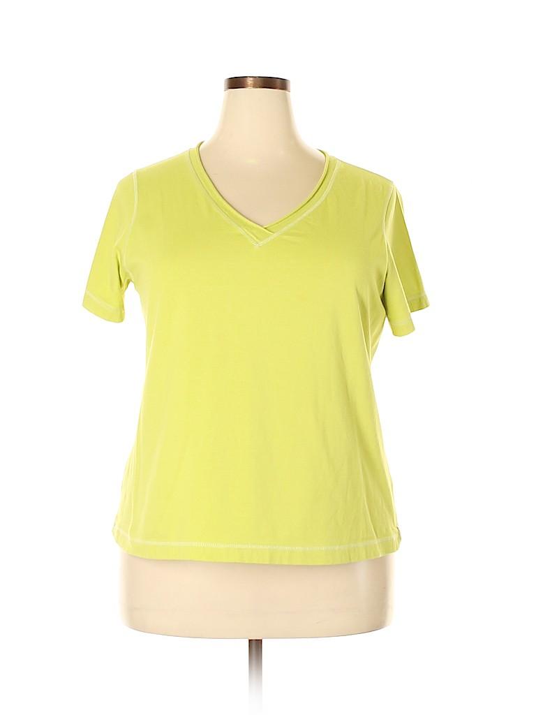 Neon Buddha Women Short Sleeve T-Shirt Size 1X (Plus)