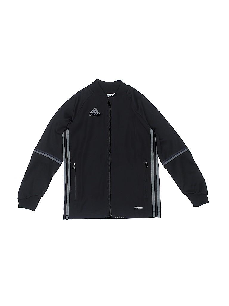 Adidas Boys Track Jacket Size X-Small (Youth)