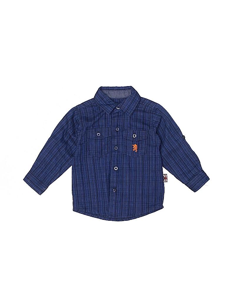 English Laundry Boys Long Sleeve Button-Down Shirt Size 18 mo