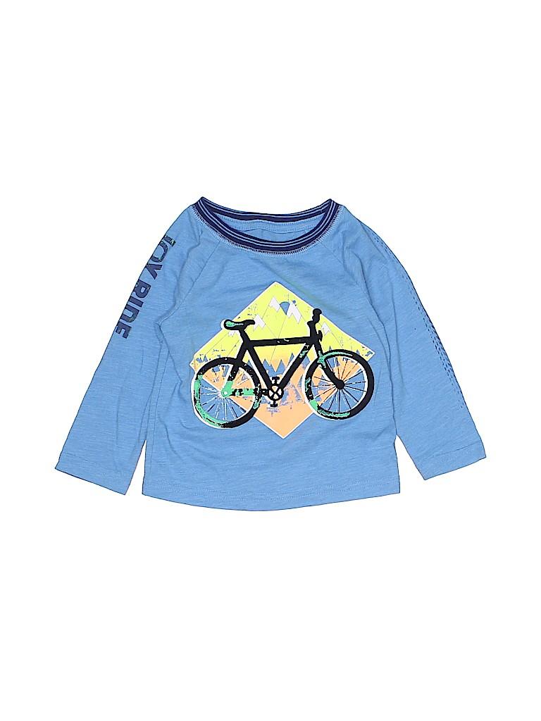 Cat & Jack Boys Long Sleeve T-Shirt Size 12 mo