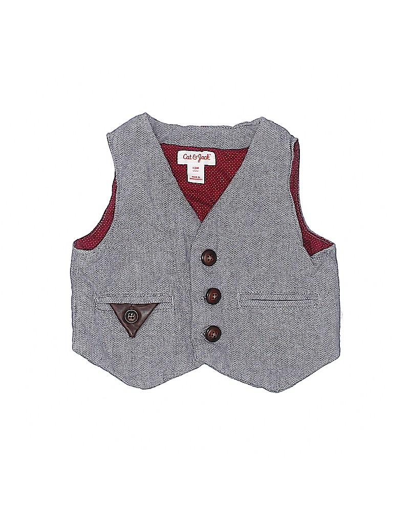 Cat & Jack Boys Tuxedo Vest Size 12 mo