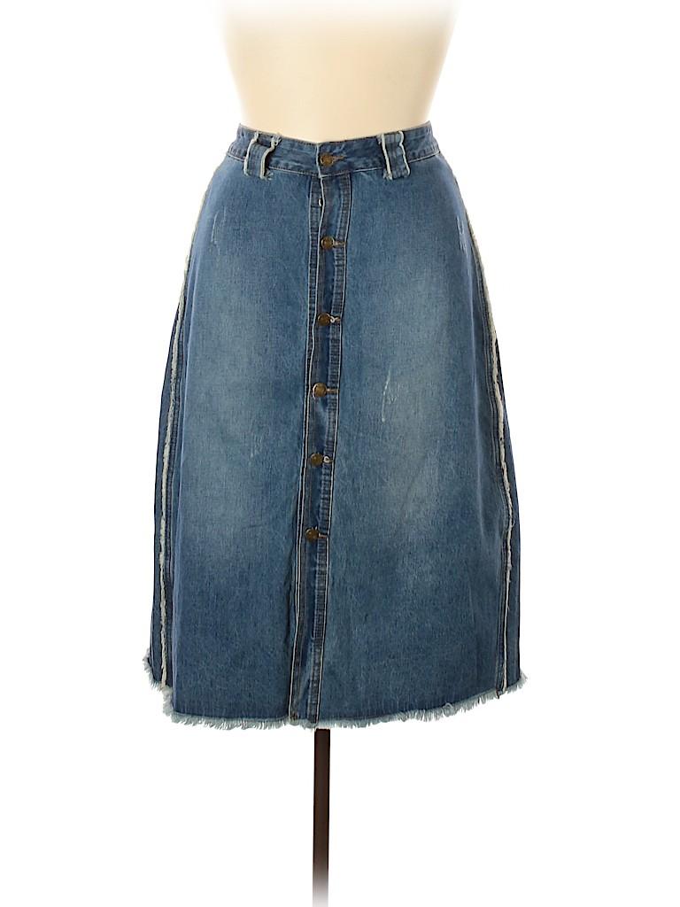 Brand Unspecified Women Denim Skirt Size 36