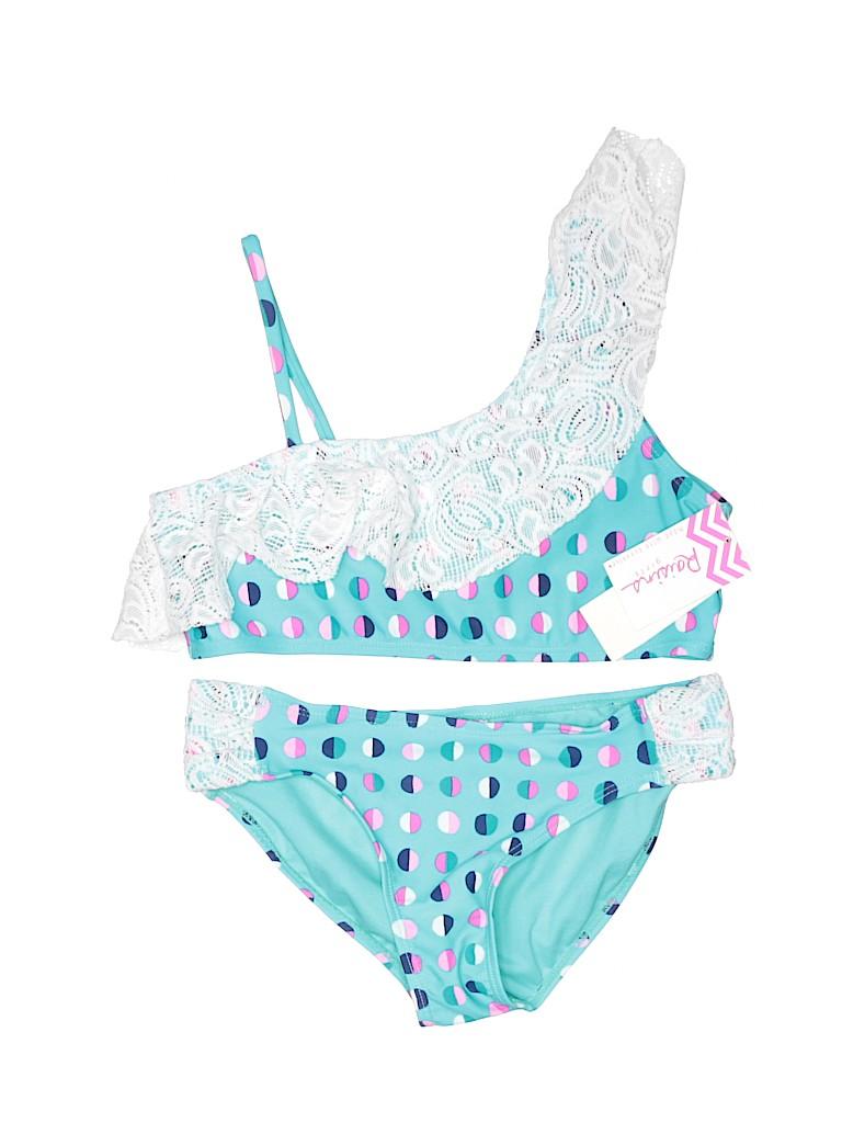 Raisins Girls Two Piece Swimsuit Size 14
