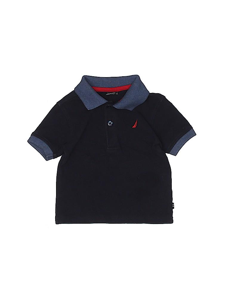 Nautica Boys Short Sleeve Polo Size 18 mo