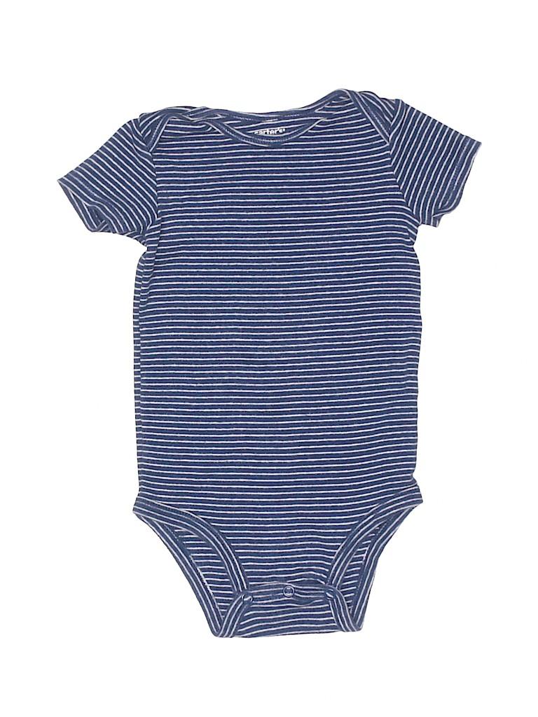 Carter's Boys Short Sleeve Onesie Size 18 mo